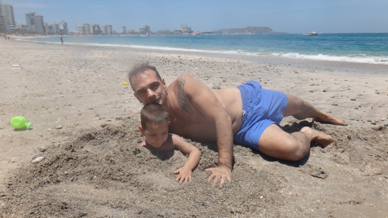 Beach in Salinas