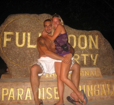 Full Moon Party, Thailand 2008