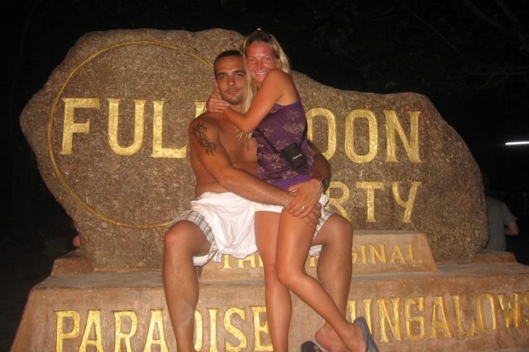 Full Moon Party, Thailand 2008