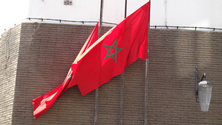 Flag od Marocco