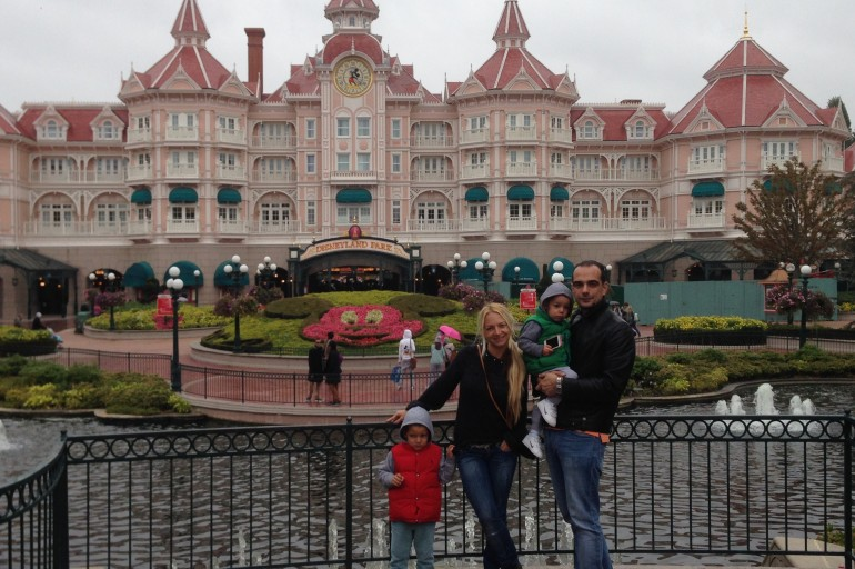 Paris – Disneyland, France 2014